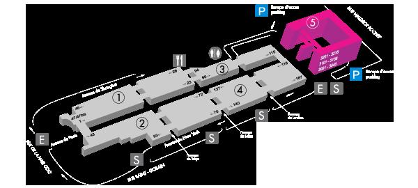 Plan du centre CIFA